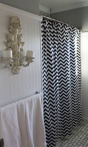 awesome black and white wall decor for bathroom living room ideas 35 best bathroom ideas images on pinterest bathroom ideas black white zigzag chevron shower curtain 72