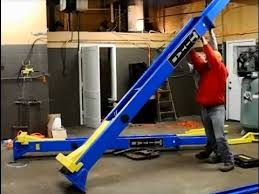 how to install a 9000 lb 2 post lift