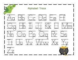 free printable alphabet letter tracing worksheets kindergarten for