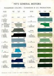 1972 chevelle paint charts 10 49