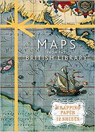 book wrapping paper maps from the library wrapping paper book wrapping paper