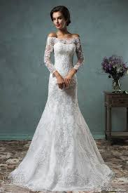 lace wedding dresses with sleeves 2016 sleeve lace wedding dresses for muslim amelia sposa