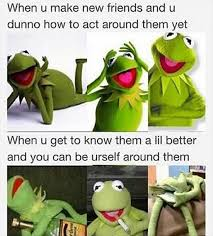 Butt Meme - holy fuck this is hilarious kermit holding his butt open is just