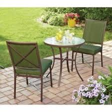 Patio Furniture Green by Steel Patio Furniture Sets Foter