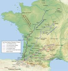 Orleans France Map by Walking The Camino Australian Friends Of The Camino