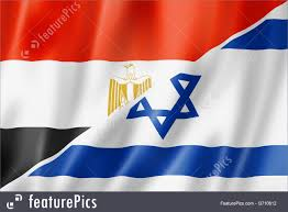 Israels Flag Egypt And Israel Flag Illustration