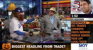 tuesday costumes here are all the goofy costumes espn personalities wore on air tuesday