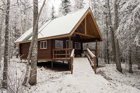 winter cabin escape to eklutna s newest cabin this winter anchorage daily news