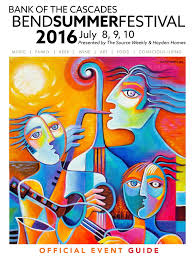 2016 bend summer festival official event guide by c3 events issuu
