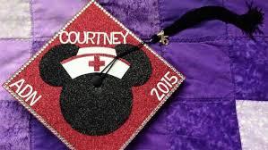 Pomp and CircumFANce Disney Fan Graduation Caps D23