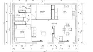 plan maison 2 chambres plain pied plan maison plain pied 2 chambres