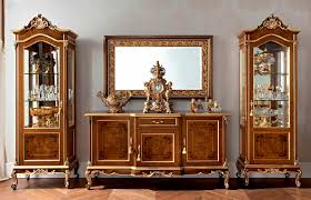 Tv Set Furniture Classic Sideboard With Long Legs Classic Wooden Casanova 12105