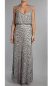 blouson wedding dress papell deco beaded blouson gown style 09186670 size