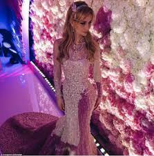 bride of billionaire u0027s son gets married in three couture wedding