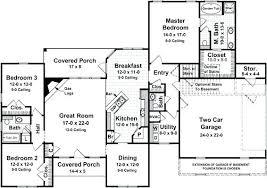 split floor plan 4 bedroom split floor plan split bedrooms ranch house plans