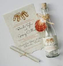 message in a bottle wedding invitations bottle invitations