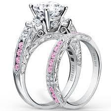 pink rings gold images Kirk kara quot charlotte quot pink sapphire diamond engagement ring jpg