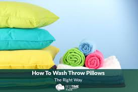 Where To Buy Sofa Pillows by How To Wash Throw Pillows The Right Way Jpg