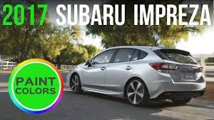 grey subaru impreza hatchback 2017 subaru impreza hatchback u0026 sedan colors youtube