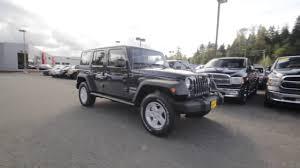 jeep wrangler unlimited sport rhino 2017 jeep wrangler unlimited sport 4x4 rhino clear coat