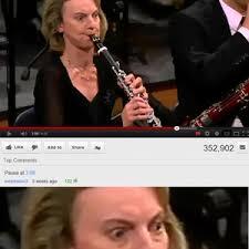 Clarinet Player Meme - clarinet playing intensifies by n00bkilla192 meme center