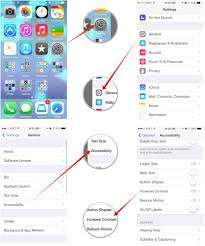 Bright Color Setting How To Increase Contrast For Visual Accessibility On Iphone And
