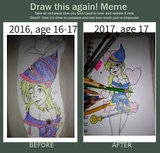 Magician Meme - dark magician girl draw this again meme by captaintraditional on