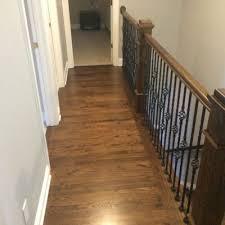 Banister Repair Before U0026 After Hardwood Floor Refinishing Repair U0026 Wood Floor