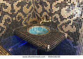 Turkish Interior Design Spa Sauna Relaxation Room Interior Designturkish Stock Photo