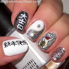 maryam maquillage chinese new year nail art u0026 makeup for asian