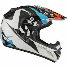 motocross helmets uk shox mx 1 paradox black blue orange motocross helmet mx quad