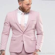 lights you can wear new arrival light pink men suit slim party dress groomsmen tuxedo