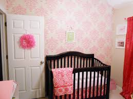 Ruffled Curtains Nursery by Baby Nursery Accent Wall Decorations For Baby Room With Murals
