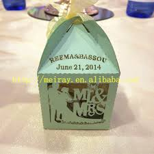 mint to be bridal shower candy gift boxes laser cut bridal shower party favors mint green