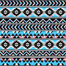 tribal aztec seamless blue and pink pattern by redkoala graphicriver