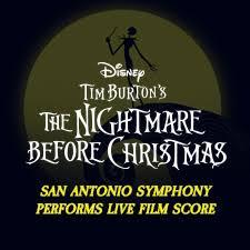 Nightmare Before Christmas Desk Set San Antonio Symphony U2013 2016 U2013 2017 Season