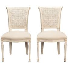 antique white dining room set of 12 back antique white dining chairs at 1stdibs