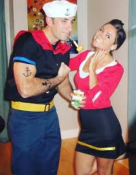 olive oyl costume 31 creative couples costumes for page 2 of 3 stayglam