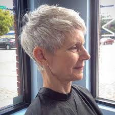 haircuts for white hair image result for short haircuts for 50 women with white hair