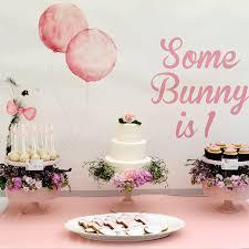 1st birthday party ideas for bunny birthday party ideas popsugar