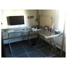 bureau verre angle bureau d angle alinea idees de decoration interieure canape d angle