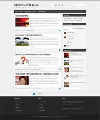 zikazev simple grey responsive templates free download