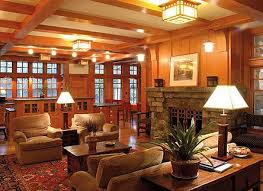 arts and crafts homes interiors craftsman living room favorite places spaces