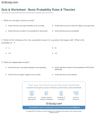 probability worksheet answers free worksheets library download