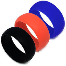 mens rubber wedding bands s safe active rings 8mm silicon rubber wedding band ring