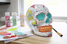 3 ways to decorate skulls a beautiful mess