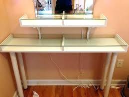 glass top vanity table glass top vanity table vanity table with glass top best glass vanity