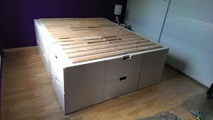 Ikea Bed Hack Desperately Needed Space In Order To Increase The Storage In My