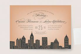wedding invitations atlanta big city atlanta wedding invitations by hooray creative minted