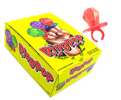 ring pops regular fruit flavor box blaircandy